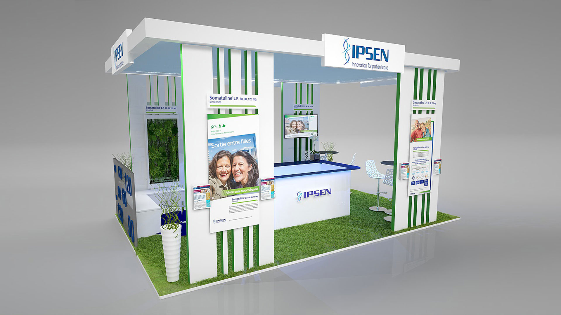 Stand Traditionnel IPSEN
