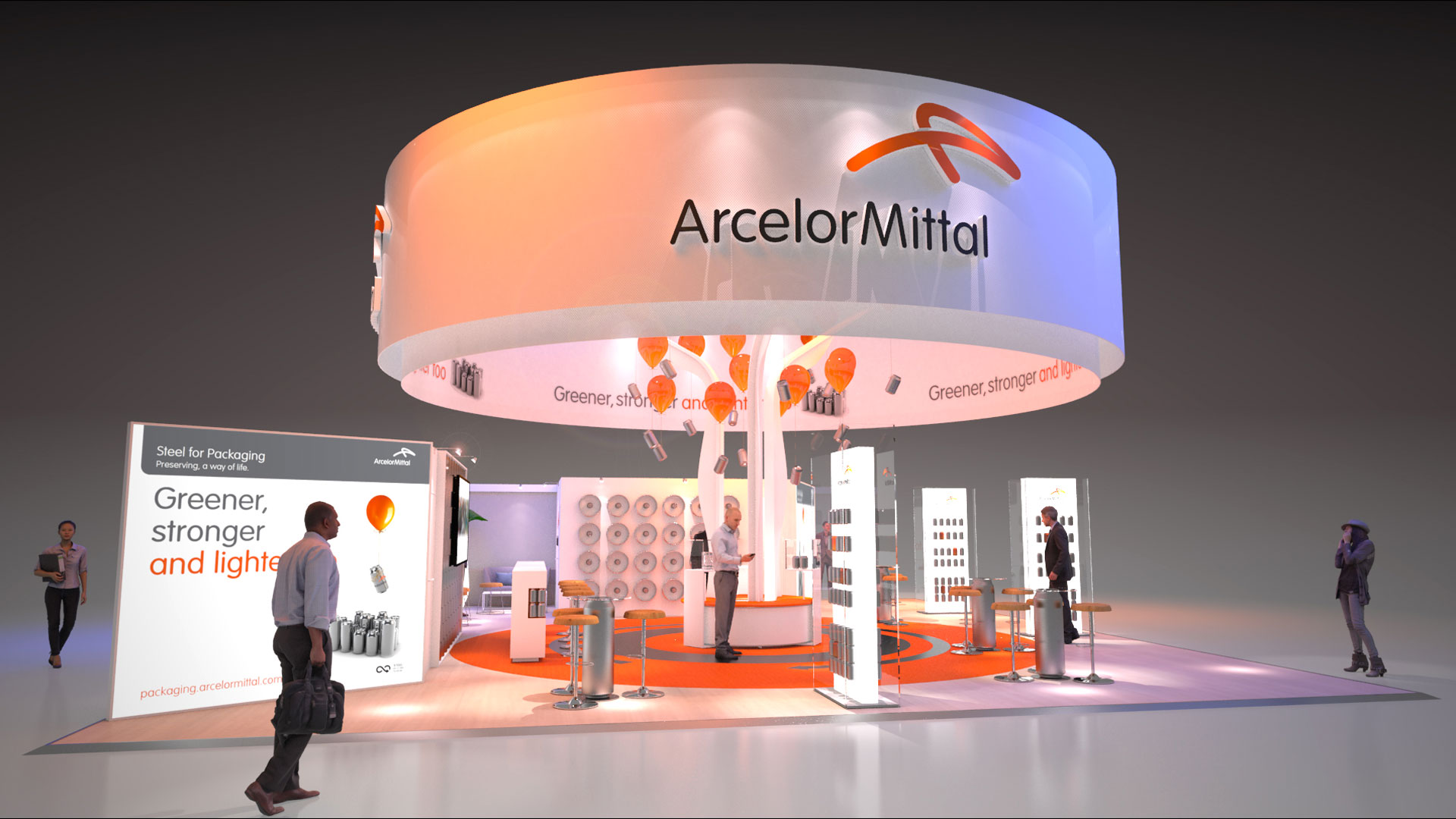 Stand salon Arcelor