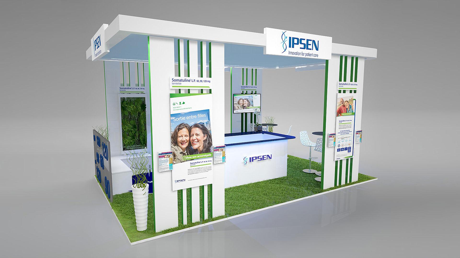 Stand Traditionnel IPSEN